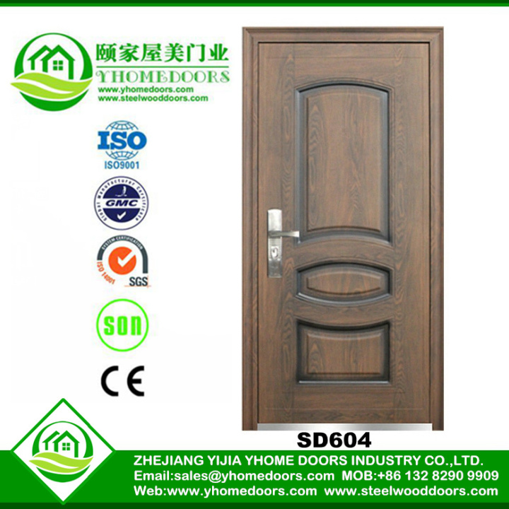 aluminum folder door,home front door,plastic zip doors