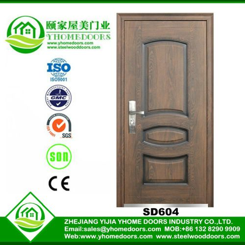 single steel doors