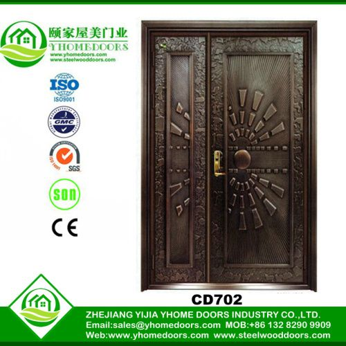 Mother son copper aluminium doors