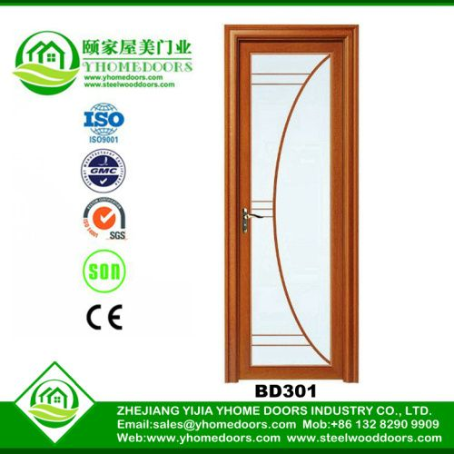 Aluminum bathroom doors